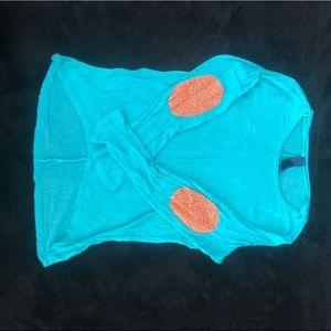 Turquoise sweater